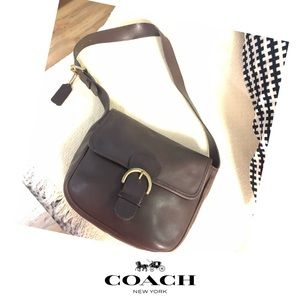 VINTAGE COACH BEDFORD PURSE